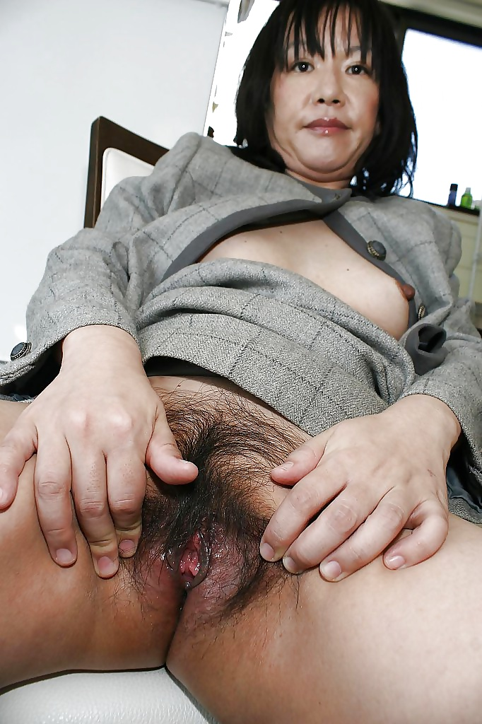 With you japanese older pussy