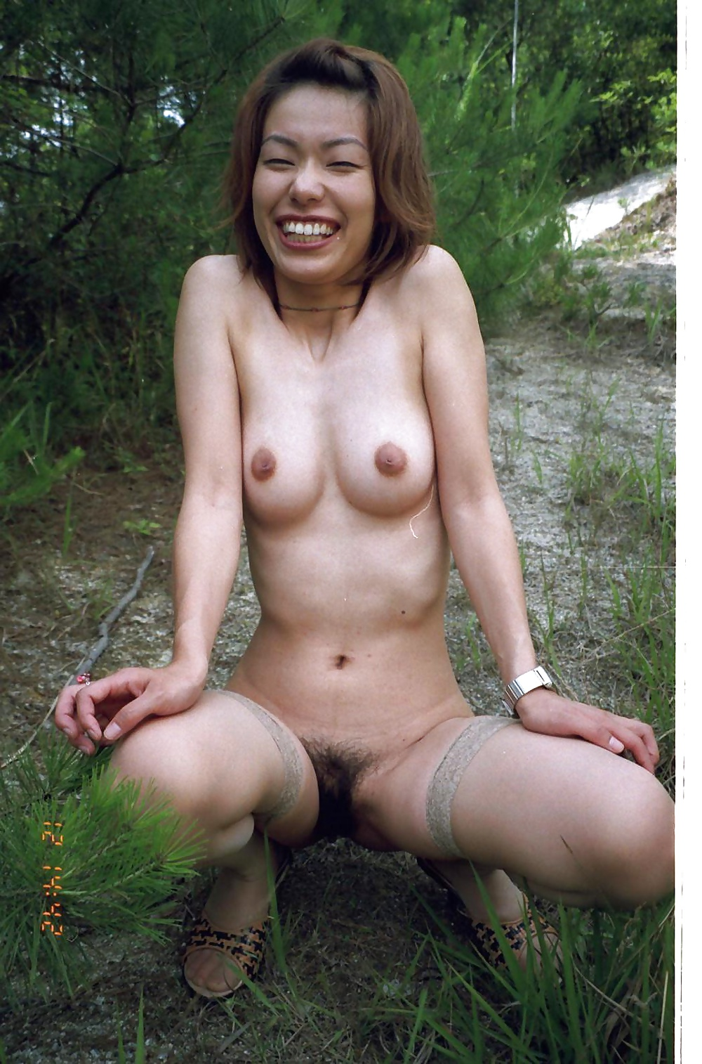 Asian exhibitionist