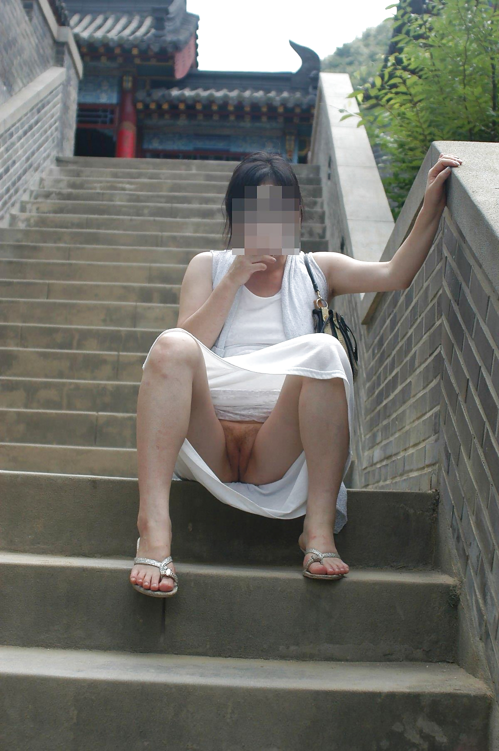 Sorry, Korean public flashing interesting